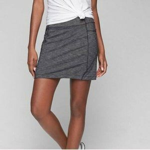 Athleta Gray Excursion Skort Skirt Hiking S